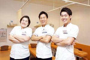 ぷらす鍼灸整骨院の柔道整復師の先生