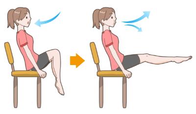 膝曲げ伸ばし運動