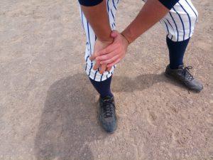 スポーツ中の打撲
