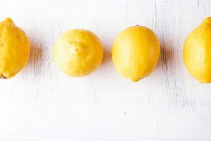 ビタミンCを豊富に含むレモン
