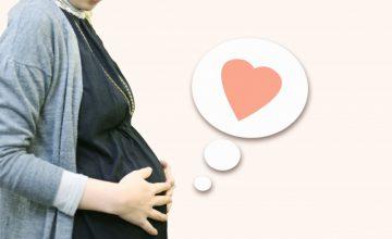 妊娠初期の妊婦さん