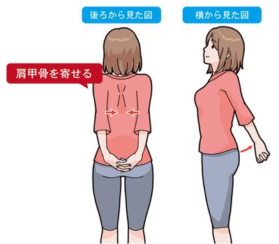 ぎっくり背中予防ストレッチ
