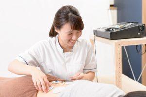 ぷらす鍼灸整骨院のEMS治療
