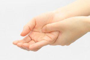 胸郭出口症候群による手のしびれ