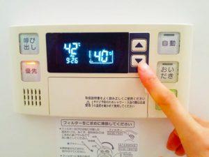 お風呂の温度計