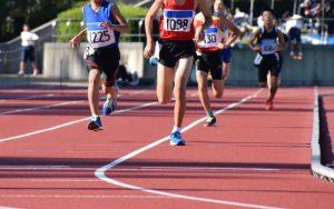 高校生の陸上競技